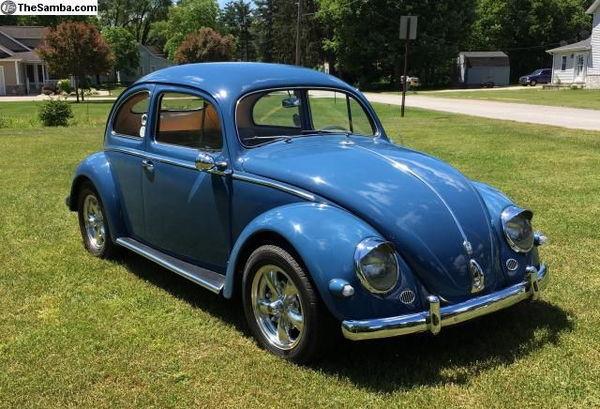 1956 VOLKSWAGEN BEETLE  for Sale $18,000