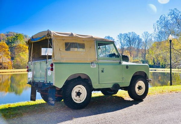 1962 LAND ROVER 11A 88  for Sale $44,939