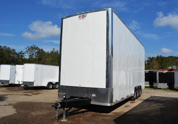 26ft Stacker Race Trailer - Nationwide Delivery - 14' Lift