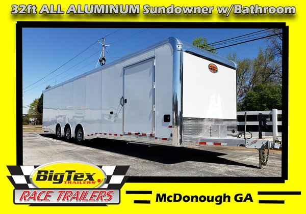 2020 8.5x32 All Aluminum Sundowner w/Bathroom Pkg