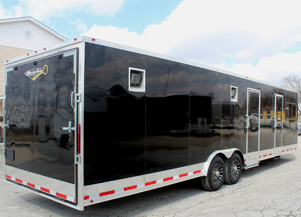 Just Arrived! 32' w/12'XE LQ Layout 20' Garage   for Sale $35,790