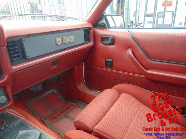 1984  ford   Mustang Convertible  for Sale $18,995