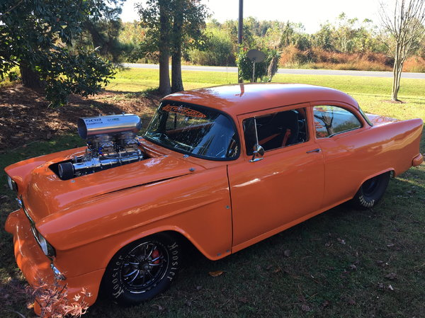 Pro Street 55 Chev For Sale In Farmville Nc Racingjunk Classifieds
