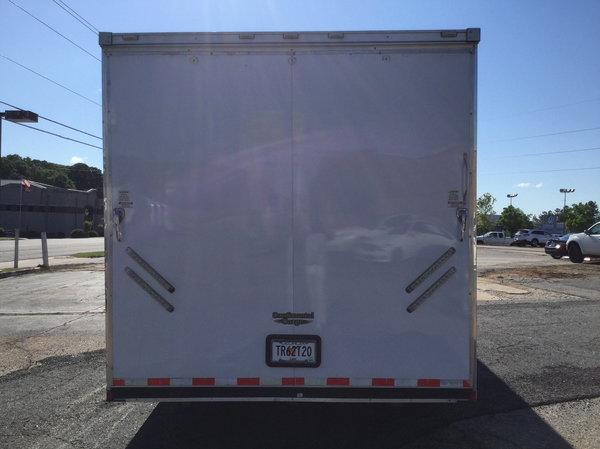 2013 Continental Cargo 32 Foot Gooseneck Car Hauler  for Sale $12,400