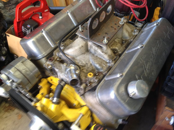 502 CHEVY BIG BLOCK COMPLETE  for Sale $7,500