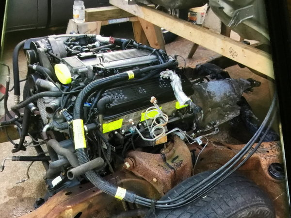 4L60E Transmission/LT1 Engine  for Sale $5,000