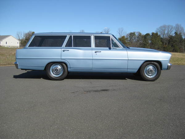 1966 Chevy Nova Wagon Custom  for Sale $39,900