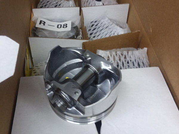 SBF 302 stroker 331 Keith Black kb355 Pistons w/ Mahle rings  for Sale $325