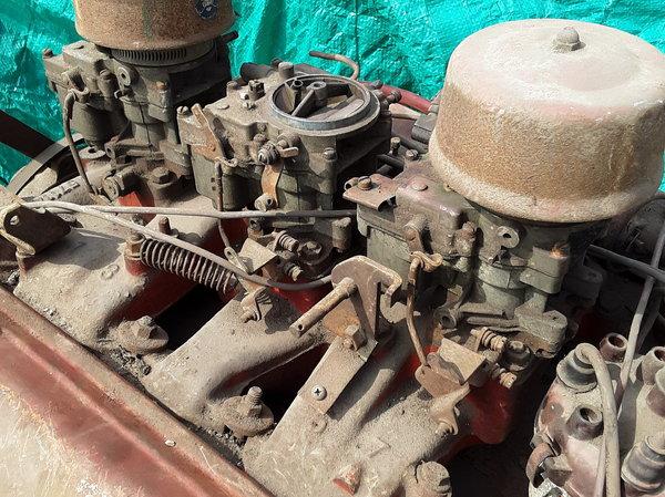 1957 J2 olds rocket engine