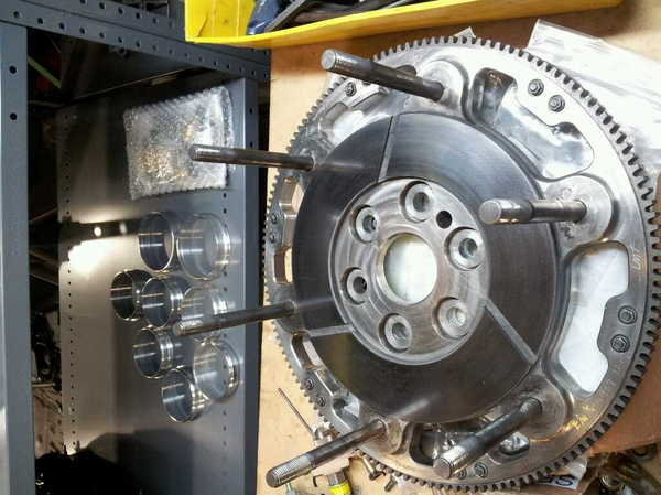 """Titanium East/West Flywheel 8"""" for Chevy  for Sale $399"""