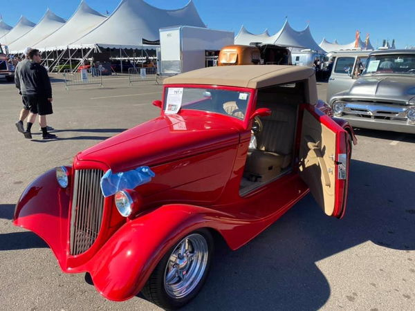 1934 FORD CUSTOM  for Sale $49,999