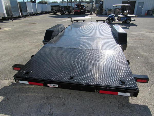2020  18ft Steel Deck Open Car by Anderson Manufacturing  for Sale $4,199