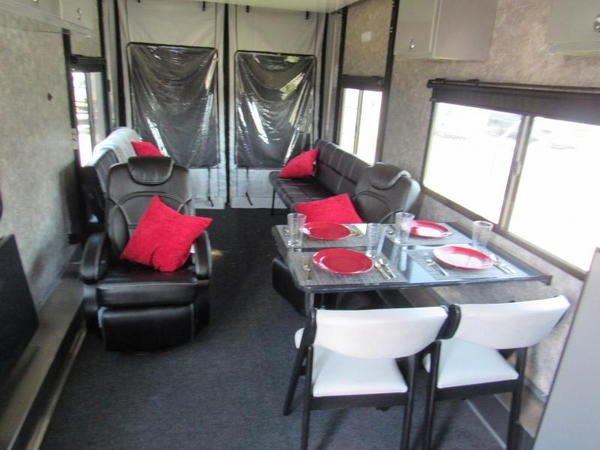 2020 36' 5TH WHEEL ATC ALL ALUMINUM TOY HAULER LOADED  for Sale $113,999
