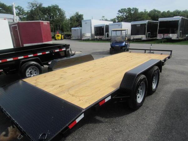 2020 Sure-Trac 18' Open Car Hauler Car / Racing Trailer  for Sale $3,299