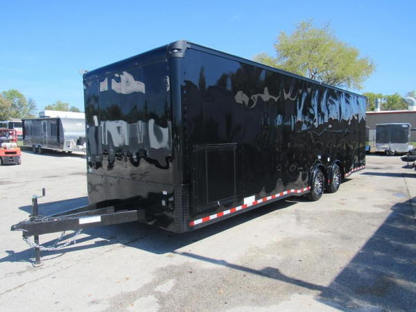 2020 Continental Cargo 28ft Black Out Car / Racing Trailer  for Sale $17,199