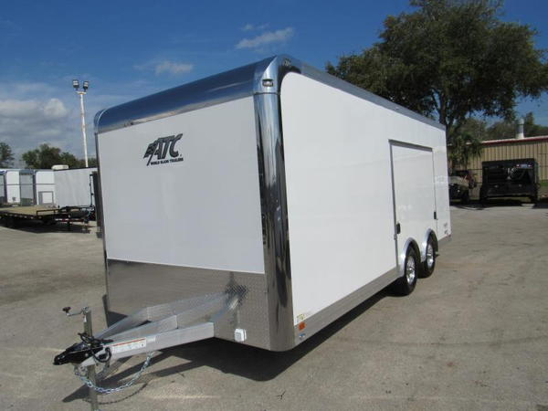2021 ATC 20Ft with Premium Escape Door Car / Racing Trailer  for Sale $0