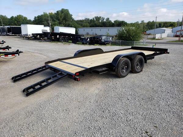 """2020 Big Tex Trailers 70CH 83"""" x 18' Flatbed Car Hauler Trai"""