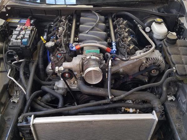 C6 Corvette drivetrain