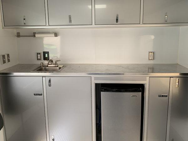 35' Intech Alum (TAG) w/ living quarters  for Sale $37,500