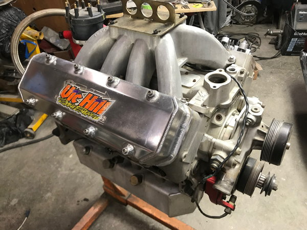 Vic Hill Chevy SB2 421 Cubic Inch  for Sale $9,999