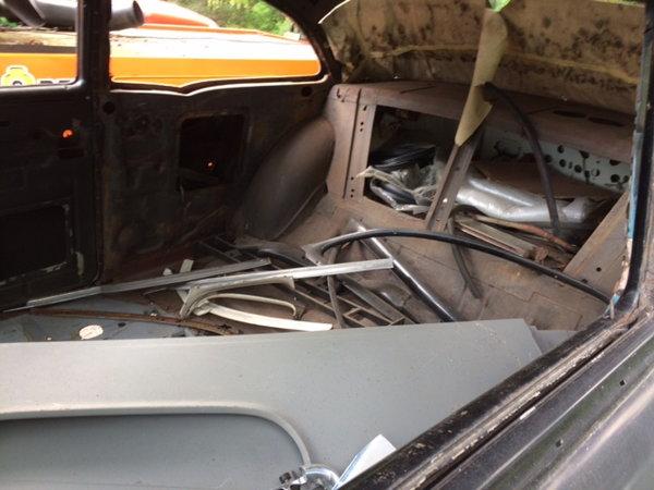 1955 Chevrolet 2 Door post sedan roller/W title  for Sale $6,900
