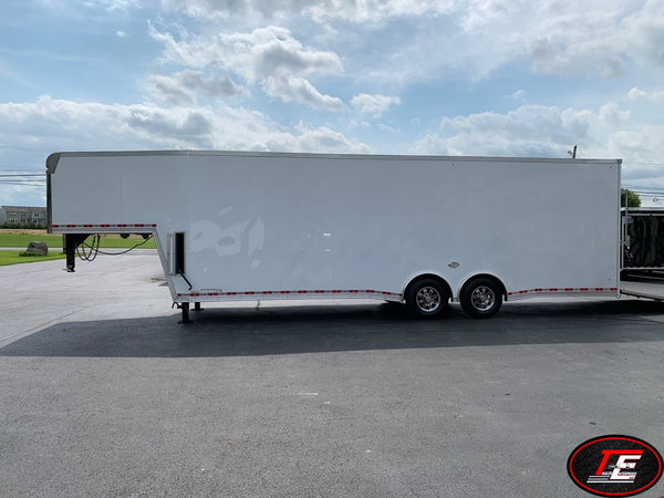 34' United Gooseneck X-Height Spread Axle Race Car Trailer  for Sale $23,495