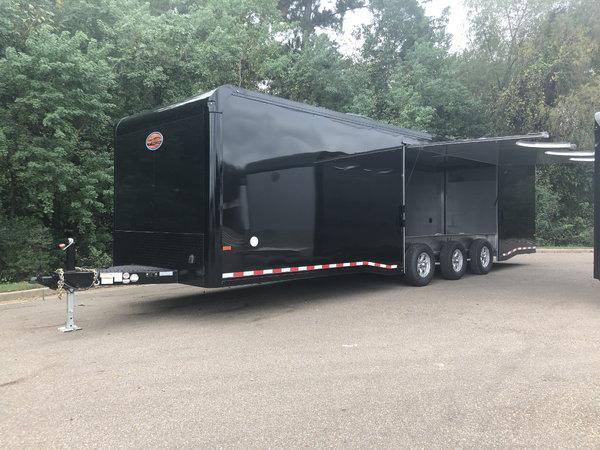 2019 SUNDOWNER ALUMINUM 32FT BUMPER PULL RACE SERIES CAR HAU  for Sale $36,700