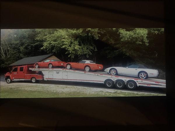 2006 GMC Topkick, Tommy Aluminum Trailer  for Sale $50,000
