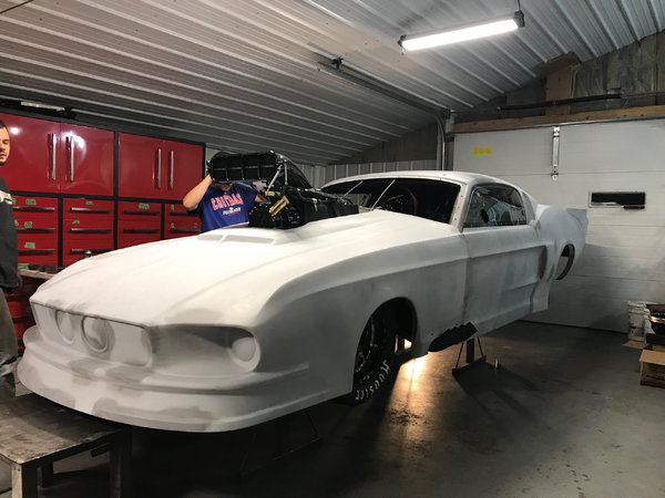 1967 Ford Mustang Shelby built by Chris Duncan Race Cars