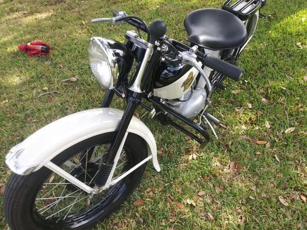 1958 Harley 125 Hummer   for Sale $8,995