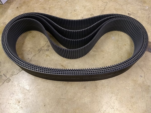 8mm 1600-84PS2 GT Blower Belts - Used  for Sale $39