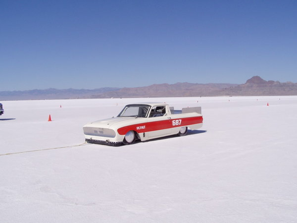 Land Speed 1960 Ford Falcon Ranchero   for Sale $9,000