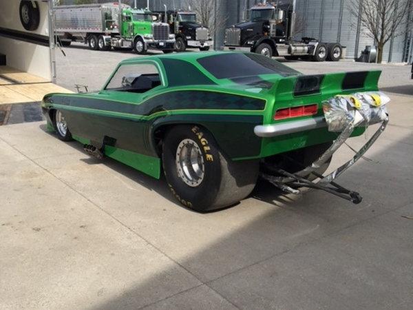 NEW 69 Camaro Funny Car Bodies