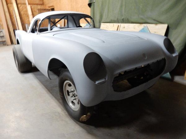 '54 Corvette Gasser Project