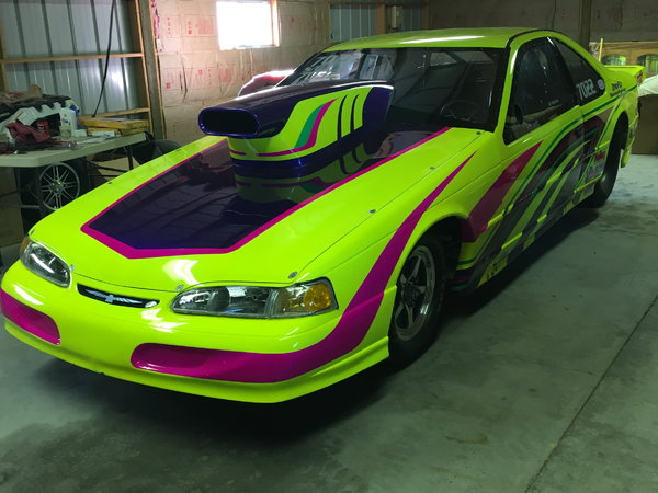 For Sale-97 Ford Thunderbird Top Sportsman/Supergas  for Sale $25,500