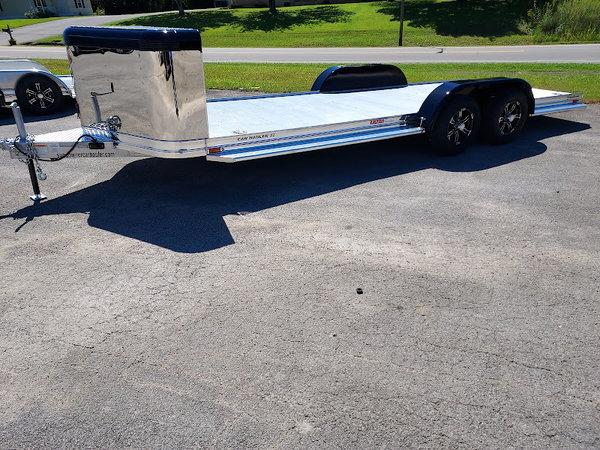 2022 Sundowner Ultra Aluminum Car Trailer 4K Axles  for Sale $11,900