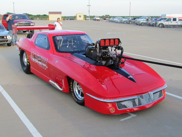 63 Vette Pro Mod / Top Sportsman - Roller   for Sale $40,000