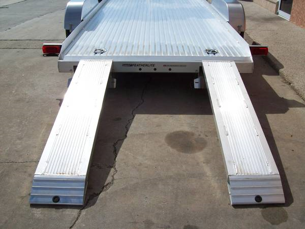 2019: Aluminum Car Hauler by Featherlite  for Sale $6,999
