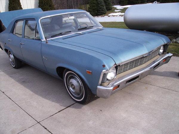1969 Chevrolet Nova For Sale In Mckean Pa Price 3 500
