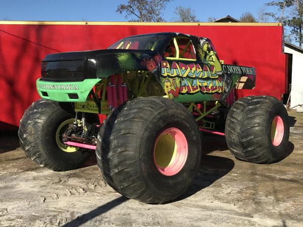 Radical motion monster truck  for Sale $65,000