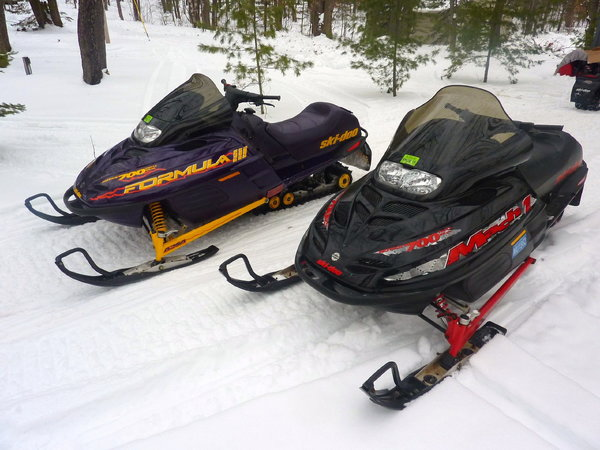 HIS & HERS SLEDS!  for Sale $5,000
