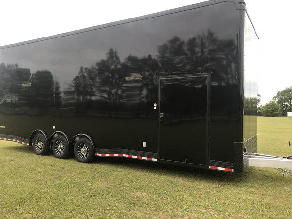 2020 30' Aluminum Blacked Out Stacker