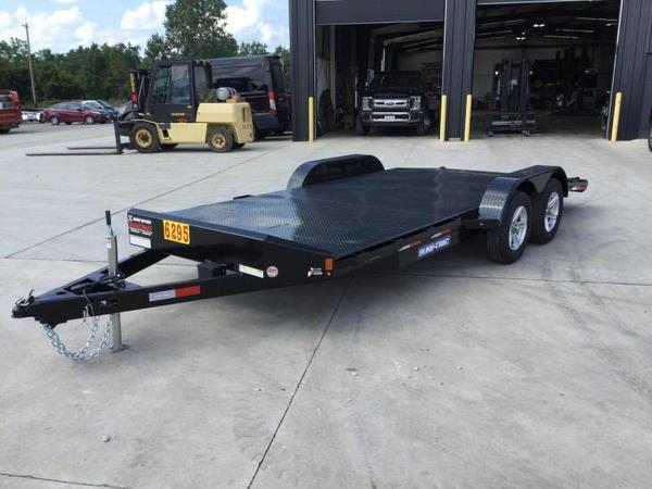 2021 Sure-Trac 7x18 Steel Deck Car Hauler