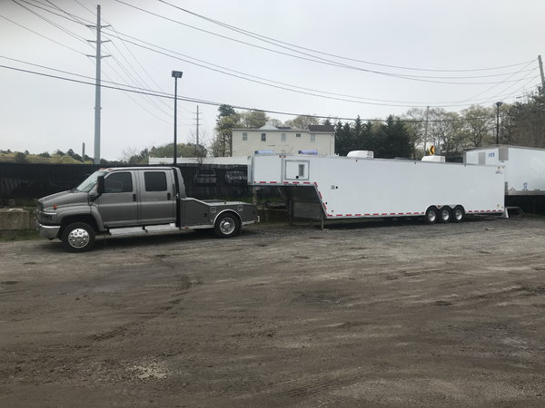 2007 Chevy 4500 & 2008 43' Cargo Pro Trailer  for Sale $75,000
