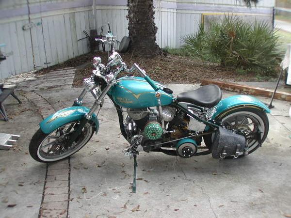 1943 Harley 45 custom