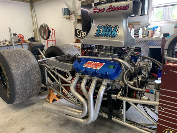 Mid 80's hard tail dragster  for Sale $6,500