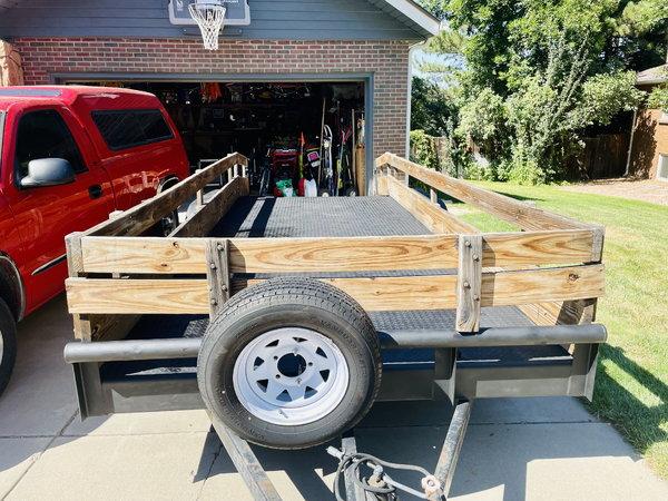 20' x 6.5' dovetail car hauler  for Sale $4,000