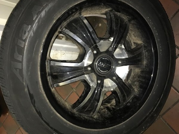 CUSTOM RIMS AND TIRES  for Sale $595