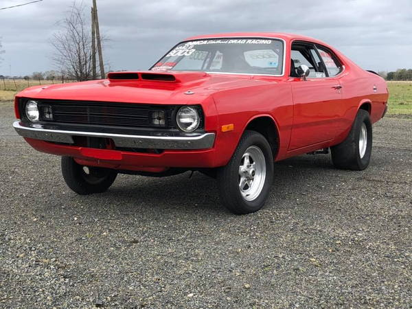 1972 Dodge Demon Drag Car For Sale as Roller for sale in BEASLEY, TX,  Price: $15,000