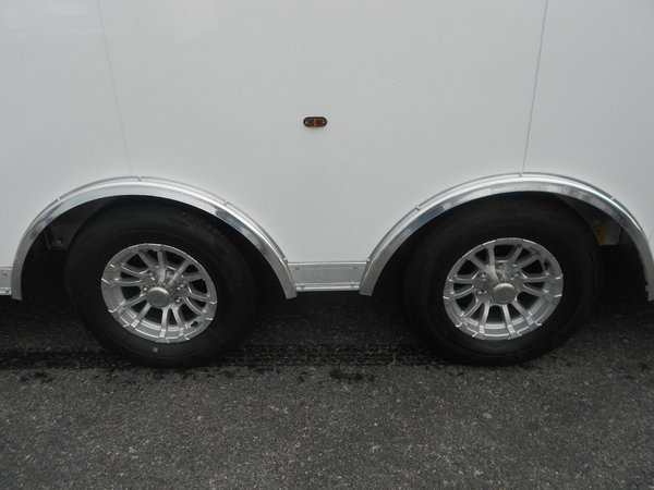 BLOWOUT SPECIAL - NEW 24' ALL ALUMINUM HAULMARK EDGE  for Sale $22,995